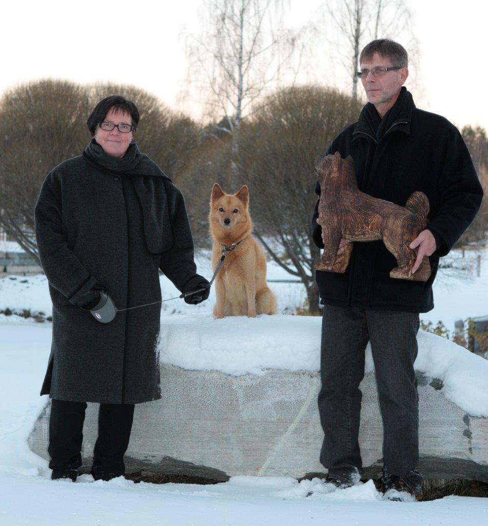 карело-финская лайка друг